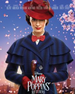 Family Movie Matinee: Mary Poppins Returns @ Bedford Central Library