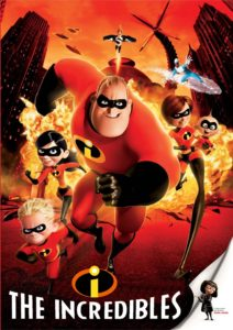 Family Movie Matinee: The Incredibles @ Bedford Central Library